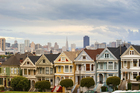 Alamo Square, Pacific Heights, San Francisco. Photo / Supplied.