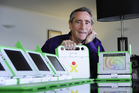 Barry Vercoe is bringing the international chairty One Laptop Per Child to Tauranga.
