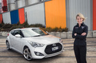 Gilmour will drive a Hyundai Veloster when she becomes the Global Rallycross series' first woman driver.Picture / Ted Baghurst