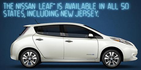 Nissan Leaf ad