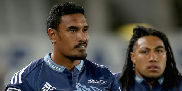 Jerome Kaino and Ma'a Nonu of the Blues. Photo / Getty Images