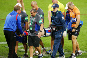 McKinnon's serious injury should not lead to a change in league rules. Photo / Getty Images