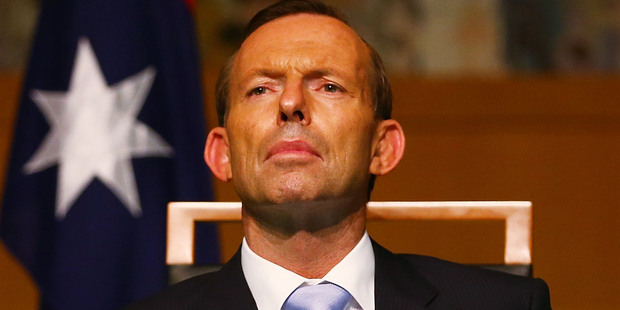 English-born Tony Abbott said he had decided on the controversial move several weeks ago. Photo / Getty Images
