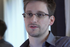 National Security Agency leaker Edward Snowden.