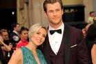 Elsa Pataky and Chris Hemsworth celebrate the arrival of their twin boys. Photo / AP