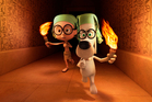 Mr Peabody leads Sherman through history in a DreamWorks animation. Photo / AP