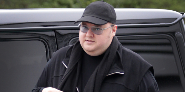 Kim Dotcom, founder of the Internet Party, is looking to form an alliance with the Mana Party before the general election to attain the 5 per cent threshold.  Photo / NZ Herald