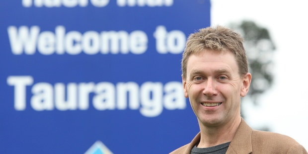 City councillor John Robson wants Tourism Bay of Plenty renamed to Tourism Tauranga