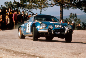 Renault Alpine A110 rally car - the company still will revive the famous racing nameplate despite the end of its partnership with Caterham. Photo / Supplied