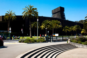 De Young museum in San Francisco, currently showing Californian artist Richard Diebenkorn. Photo / Babiche Martens.