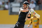 New Zealand batsman Brendon McCullum in action against Australia. Photo / Brett Phibbs