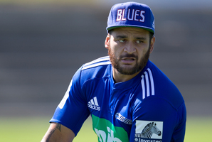 Bryn Hall has replaced Weepu for tomorrow's match against the Highlanders at Eden Park. Photo / Brett Phibbs