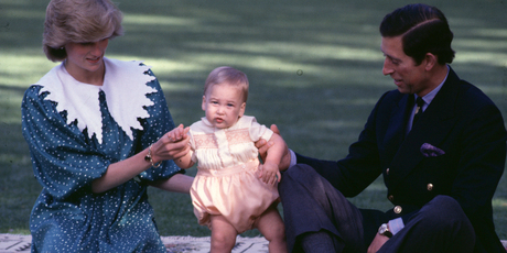 Baby Prince William was the centre of attention for both his parents and the media at Government House in 1983. Photo / NZH