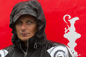 Emirates Team New Zealand skipper Dean Barker.