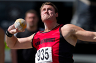 Tom Walsh has proven he's the nation's top male shot putter. Photo / Brett Phibbs.