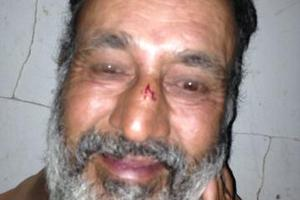 Homeless man Maqbool Hussain who was found dead in Balmoral, Auckland.