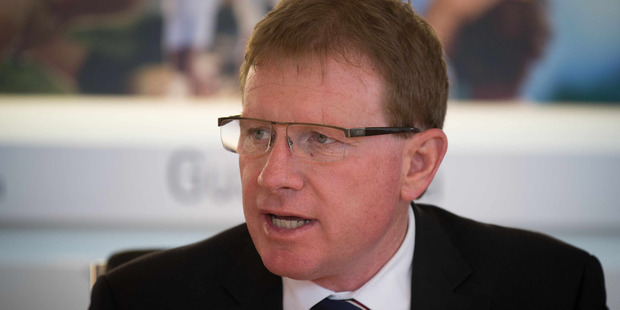 Fonterra chairman John Wilson. Photo / NZ Herald