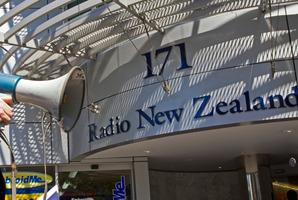 Radio New Zealand. Photo / David Rowland