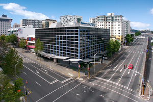 The Radio Network building at 54 Cook St in central Auckland.