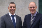 Aecom's Shaun Hubbard (left) and Peter Harris: working in a highly complex environment.