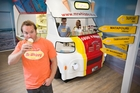 Mr Whippy master franchise owner Chris Dorn says the Auckland frozen dessert market is close to saturation point. Photo / Greg Bowker