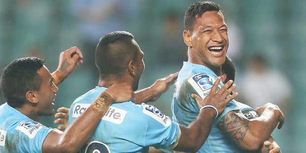 Israel Folau will be missed by many Fantasy teams this weekend. Photo / Getty Images