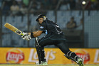 Ross Taylor scored 62 off 37, including four fours and three sixes. Photo / AP