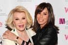 Joan and Melissa Rivers are not into deep and meaningful. Photo / AP