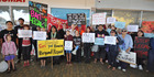 View: Tokoroa protests against legal highs