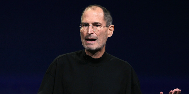 Steve Jobs speaking during an Apple Special event to unveil the iPad 2. Photo / Getty Images