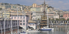 Genoa's picturesque harbour is a gateway to the Mediterranean. Photo / Thinkstock