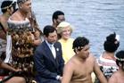 1983 - Prince Charles and Lady Diana at Waitangi. Photo / File