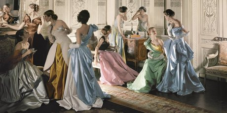Charles James Ball Gowns, by Cecil Beaton, 1949-1950. Picture / Metropolitan Museum of Art