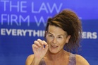 Norrie during a press conference after the High Court of Australia case to be recognised as gender-neutral. Photo / AAP