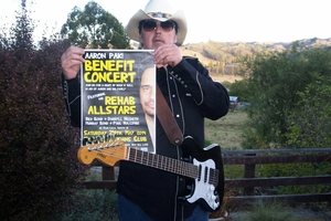 Taihape musician Rex Bond, organiser of the Aaron Paki Benefit Concert.  Photo/Supplied