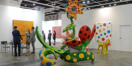 Art Basel, Hong Kong 2013/ Victoria Miro. Pictures / Matthew Oldfield, Art Basel