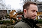 Managing director of Copenhagen Zoo Steffen Straede. Photo / AP