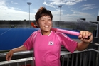 Mi Hyun Park epitomises the tenacity of South Korea's international players. Photo/Paul Taylor