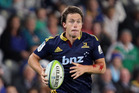 Ben Smith of the Highlanders on the counter-attack during the round eight Super Rugby match between the Highlanders and the Rebels at Forsyth Barr Stadium. Photo / Getty