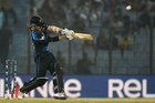 Kane Williamson scored 42 of New Zealand's 60 runs as they were bundled out by Sri Lanka. Photo / AP