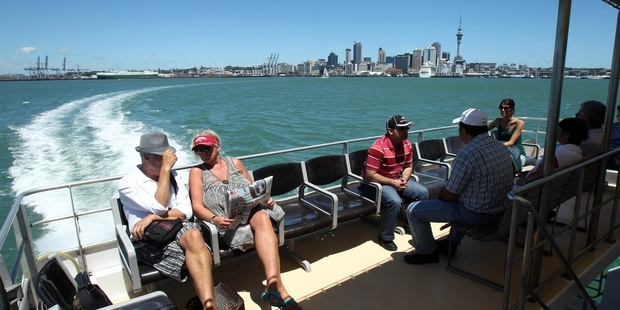 Auckland transport authorities are puzzled by the sharp downturn in the number of ferry trips taken last month compared with patronage in the same period last year. Photo / Janna Dixon