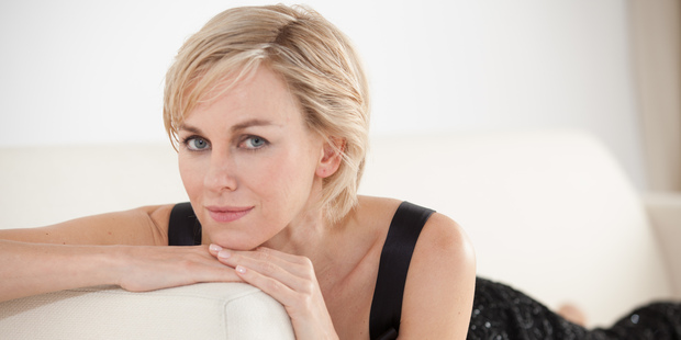 Naomi Watts as Princess Diana in the 2013 movie Diana.