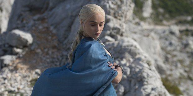 Emilia Clarke stars in Game of Thrones.