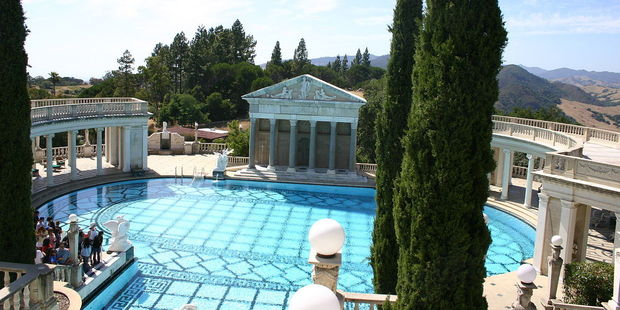 """The Beverly House was featured in the movies """"The Godfather"""" and """"The Bodyguard."""" Photo / Wikipedia-Markus Laber."""