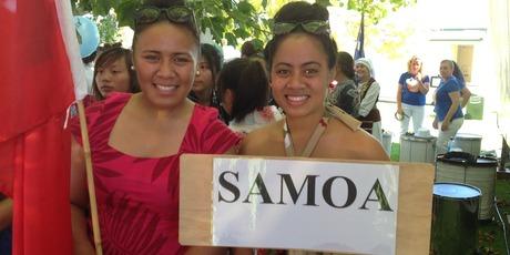 Liz Moli and Siala Tuimaualuga