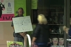 A concerned parent is picketing outside a store which sells Dunedin synthetic cannabis, Farmer Calvin Hooper, of Blackhead, said he is picketing outside Cosmic Corner in George St because his adult child was admitted to Wakari Hospital after smoking the synthetic cannabis Tai High.