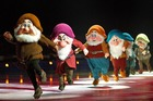 The dwarfs of Disney on Ice's Treasure Trove.