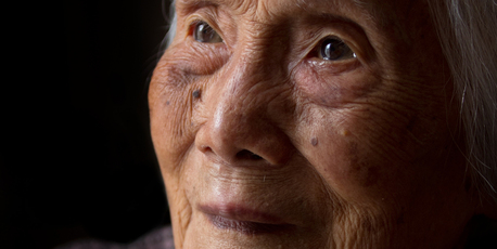 Ngar Wong celebrates her 100th birthday. Photo / Stephen Parker