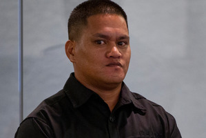 Teina Pora in the dock at Auckland High Court earlier this month for his bail hearing. Photo / Sarah Ivey