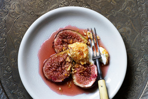 Honey Roasted Figs. Photo / Supplied.